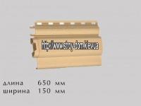 Наличник Классик к фасадным панелям коричневый