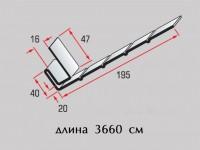 Планка фаска Т-08 белая