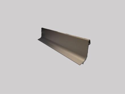 Плинтус алюминиевый Multi Effect Q64 бронза клей (BRĄZ) размер 16.8*50*2700