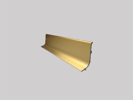 Плинтус алюминиевый Multi Effect Q64 золото клей (ZŁOTO) размер 16.8*50*2700