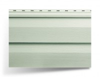 Сайдинг двухпереломный «Alta-Siding» серо-зелёный