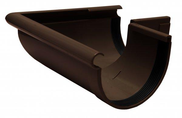 Кут желоба наружный 90° 130мм RAINWAY коричневый
