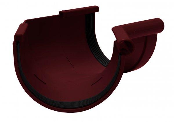 Кут желоба внутренний 135° 90мм RAINWAY красный