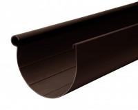 Желоб 130мм L=3м RAINWAY коричневый