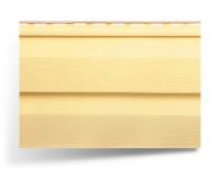 Сайдинг двухпереломный «Kanada Плюс» желтый