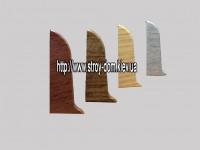 Заглушка правая 'Plint' AM60 — 20 глянцевый венге
