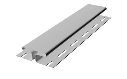 Планка соединительная H-профиль к виниловому софиту RAINWAY белый