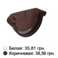 Заглушка коричневая Альта-Профиль