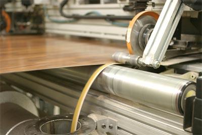 Технология производства ламината.
