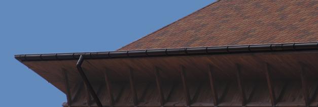 Пластиковые отливы для крыши.