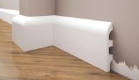 Плинтус Cezar Elegance под покраску из дюрополимера LPC-19 (2,00 m x 98,8mm x 20,8 mm)