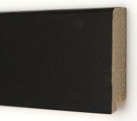 Плинтус деревянный шпонированный Ключук (Kluchuk) Модерн Дуб черный 80х18х2400