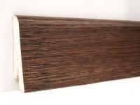 Плинтус деревянный шпонированный Ключук (Kluchuk) Евро Дуб Какао 60х18х2400
