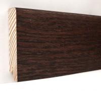 Плинтус деревянный шпонированный Ключук (Kluchuk) Модерн Дуб Коньяк 80х18х2400