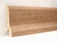 Плинтус деревянный шпонированный Ключук (Kluchuk) Классика Дуб патина 60х21х2400