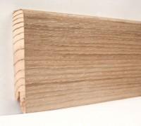 Плинтус деревянный шпонированный Ключук (Kluchuk) Модерн Дуб патина 80х18х2400