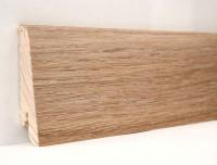 Плинтус деревянный шпонированный Ключук (Kluchuk) Евро Дуб патина 60х18х2400