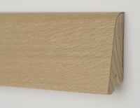 Плинтус деревянный шпонированный Ключук (Kluchuk) Рустик Дуб бейлиз 80х19х2200