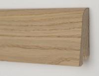 Плинтус деревянный шпонированный Ключук (Kluchuk) Рустик Дуб карамельный 60х19х2200