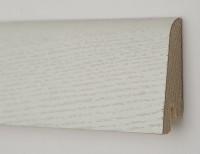 Плинтус деревянный шпонированный Ключук (Kluchuk) Рустик Дуб зимний 80х19х2200