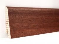 Плинтус деревянный шпонированный Ключук (Kluchuk) Евро Сапели 60х18х2400