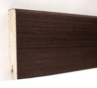 Плинтус деревянный шпонированный Ключук (Kluchuk) Модерн Венге 80х18х2400