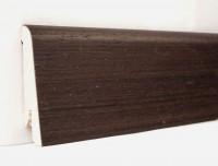 Плинтус деревянный шпонированный Ключук (Kluchuk) Евро Венге 60х18х2400