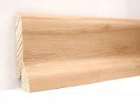 Плинтус деревянный шпонированный Ключук (Kluchuk) Классика Ясень натуральный 60х21х2400