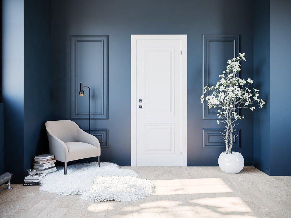интерьер белые двери картинки личной