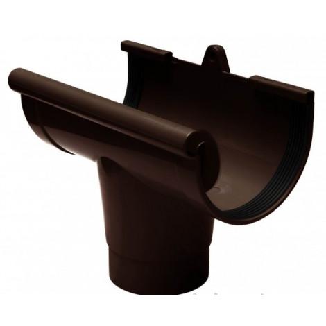 Фото - Воронка желоба 130мм RAINWAY коричневый