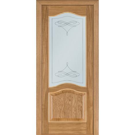 Фото - Дверь межкомнатная модель 03 (глухая/остекленная) дуб светлый Terminus