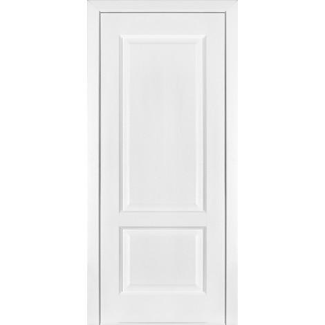 Фото - Дверь межкомнатная модель 04 (глухая/остекленная) ясень белый эмаль Terminus