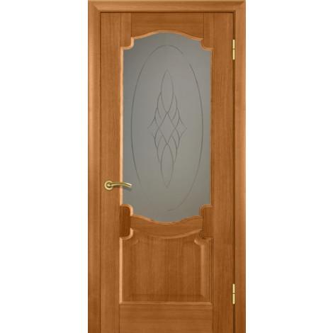 Фото - Дверь межкомнатная модель 37 (глухая/остекленная) дуб nero Terminus