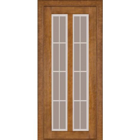Дверь межкомнатная модель 117 (глухая/остекленная) дуб тонированный Terminus