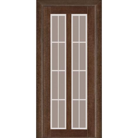 Дверь межкомнатная модель 117 (глухая/остекленная) венге Terminus