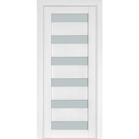 Фото - Дверь межкомнатная модель 136 ясень белый эмаль Terminus