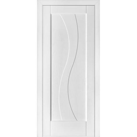 Фото - Дверь межкомнатная модель 15 (глухая/остекленная) ясень белый эмаль Terminus