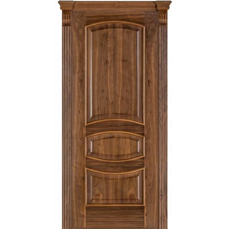 Фото - Дверь межкомнатная модель 50 (глухая/остекленная) орех американский Terminus