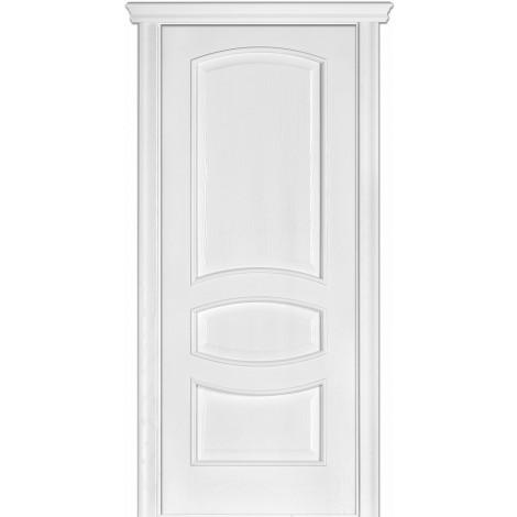 Фото - Дверь межкомнатная модель 50 (глухая/остекленная) ясень белый эмаль Terminus