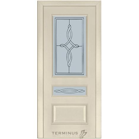 Фото - Дверь межкомнатная модель 53 (глухая/остекленная) ясень crema Terminus