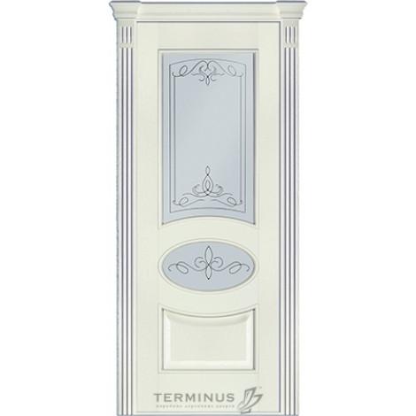 Фото - Дверь межкомнатная модель 55 (глухая/остекленная) ясень белый эмаль Terminus