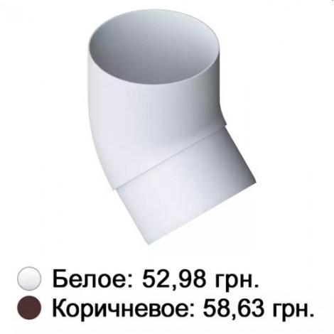 Фото - Колено 45° белое Альта-Профиль