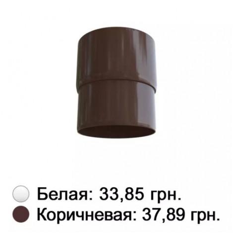 Фото - Муфта трубы коричневая Альта-Профиль
