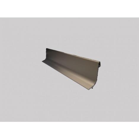 Плинтус алюминиевый Multi Effect Q63 бронза клей (BRĄZ) размер 16.8*40*2700