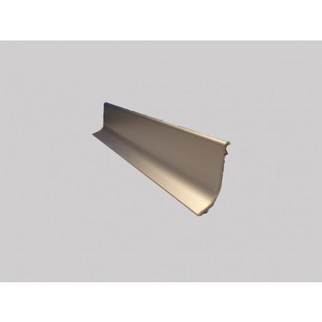 Плинтус алюминиевый Multi Effect Q63 шампань клей (SZAMPAN) размер 16.8*40*2700