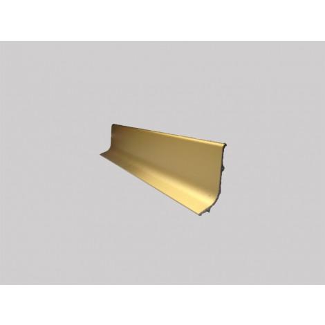 Фото - Плинтус алюминиевый Multi Effect Q64 золото клей (ZŁOTO) размер 16.8*50*2700