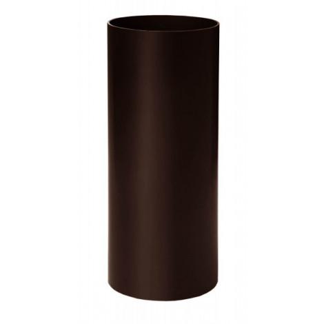 Фото - Труба 75мм L=3м RAINWAY коричневый