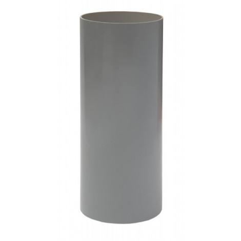 Фото - Труба 100мм L=3м RAINWAY серый