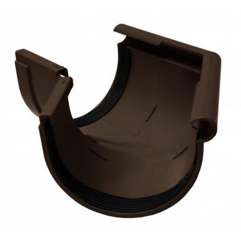 Фото - Кут желоба наружный 135° 130мм RAINWAY коричневый