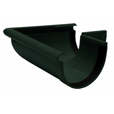Фото - Кут желоба наружный 90° 90мм RAINWAY зелёный